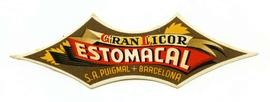 Gran Licor Estomacal. Etiqueta