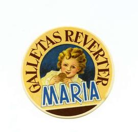 Galletas Reverter Maria. Etiqueta